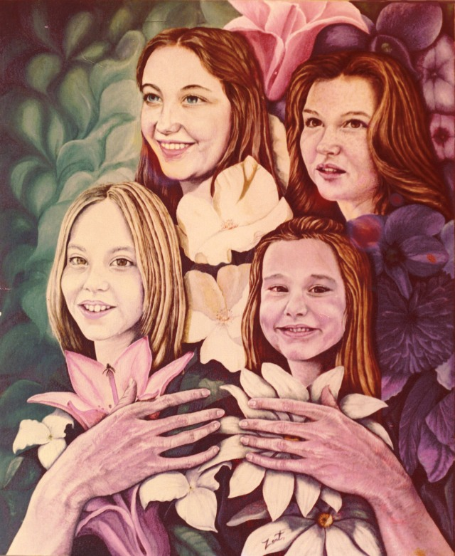 TAMMY'S DAUGHTERS IN HANDS